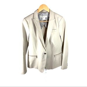GERARD DAREL Tailored Blazer Tan Size 40/US 8